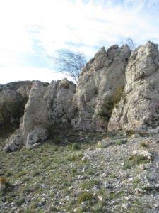 Formazioni calcaree curiose presso le Termopili
