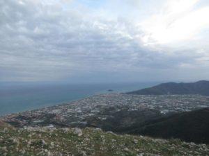 Vista su Isola Gallinara e Albenga
