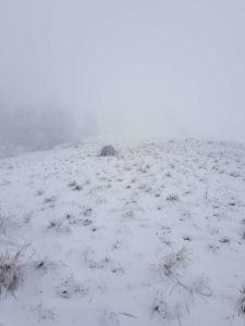Salita tra la nebbia