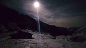 Giochi di luce lunare