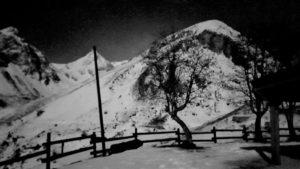 Paesaggio lunare dal rifugio Carbonetto