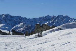 Colle della Bandia 2408 mt.