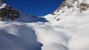 Verso il Colle di Sautron 2685 mt