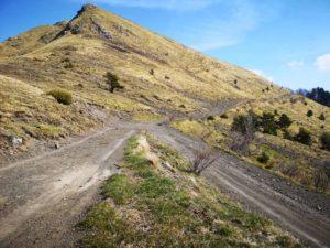 Passo Mezzaluna 1454 mt